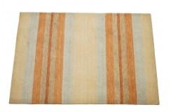 Dywan Gabbeh Handloom Loribaft wełna w pasy kolorowy pastelowy 120x180cm 100% wełna