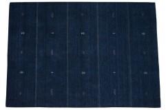 Granatowy ekskluzywny dywan Gabbeh Loribaft Indie 170x240cm 100% wełniany