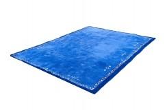 Niebieski ciężki dywan NEPAL Original premium 300x400cm 100% wełna indyjski