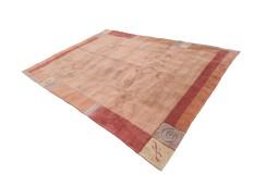 Ceglasty gruby dywan NEPAL 250x350cm 100% wełna indyjski