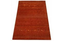 Czerwony ekskluzywny dywan Gabbeh Loribaft Indie 180x240cm 100% wełniany