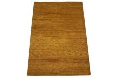 Złoty gruby dywan gabbeh 170x240cm wełna argentyńska ręcznie tkany