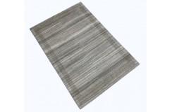 Szary gruby dywan gabbeh 170x240cm wełna argentyńska ręcznie tkany