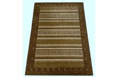 Brązowy ekskluzywny dywan Gabbeh Loribaft Indie 170x240cm 100% wełniany