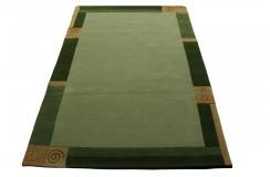 Welniany ręcznie tkany dywan Nepal Premium Wissenbach Manali 101 grun 200x300cm