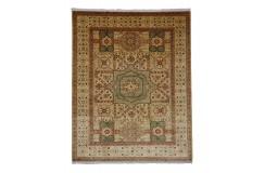 Gustowny dywan Ziegler Mamluk 100% wełna kamienowana ręcznie tkany 250x300cm