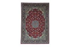 Isfahan - tradycyjne kwiatowe dzieło sztuki z IRANU 100%WEŁNA oryginalny cenny ok 200x300cm