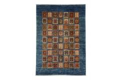 Dywan Ziegler Farahan Shaal Gabbeh 100% wełna kamienowana ręcznie tkany luksusowy 200x300cm klasyczny