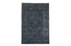 Dywan Ziegler Farahan Klassik Vintage 100% wełna kamienowana ręcznie tkany luksusowy ok 200x300cm klasyczny szary