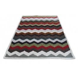 Rewelacyjny gruby ręcznie tkany dywan indyjski 100% wełny