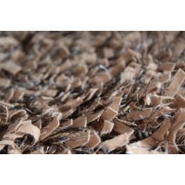 Kudłaty dywan z wysokim włosem wełna i poliester ręcznie tkany w Indiach