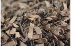 Wełna filcowana i poliester - niesamowity dywan shaggy ręcznie tkany z Indii