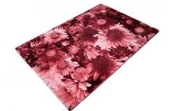 Piękny Dywan Pierre Cardin Infinity Klasa i jakość 120x180cm czerowny realistyczne kwiaty