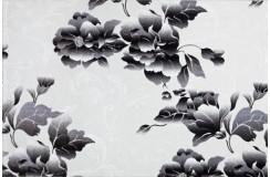 Dywan Pierre Cardin poem 120x180cm beżowy z czarnym kwiatem piękny wzór wysoka jakość miękki