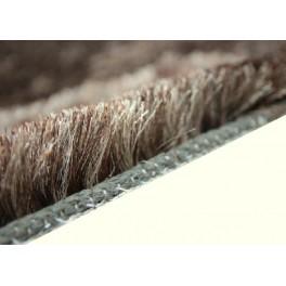 Wart 4150zł dywan Shaggy Brinker Carpets NEW CELESTY 1315 brązowy niezwykły połysk poliester super silk soft