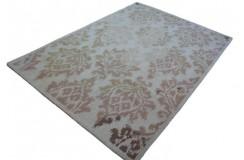 Nowoczesny dywan The Rug Republic Carsousel gruby 160x230cm beżowy 100% wełna