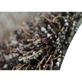 Niezwykły brązowy dywan shaggy Brinker Carpets Romance Femme 170x230cm wysoki włos i wysoka jakość wykonania