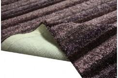 Markowy nietypowy dywan shaggy TOUAREG plum firmy Brinker Carpets piórka glamour 170x230cm masywny inny
