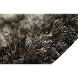 Wart 5030zł dywan Shaggy Brinker Carpets NEW CELESTY 1325 brązowy niezwykły połysk poliester super silk soft 2x3m
