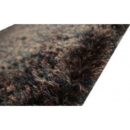 6kg/m2 masywny dywan shaggy super soft Brinker Carpets Percy 1325 brown-black 200x300cm przecena -60%