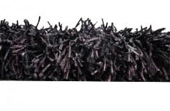 5cm Gruby masywny dywan shaggy Brinker Carpets woodford WF09 200x300cm czarny/fioletowy jakość!