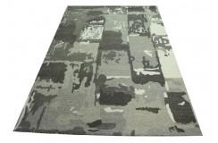 Cieniowany dywan w odcieniach szarości Ava Handfab 100% wełna 160x230cm