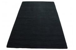 Dywan IKEA Almsted Ręcznie tkany czarny dywan Nowoczesny design 170x240