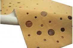 Karmelowy mięciutki wełniany dywan Ava Handfab 160x230 WEŁNA+SKÓRA BYDLĘCA