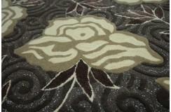 Wełna + jedwab wspaniały brązowy gustowny dywan Ava Handfab 160x230cm