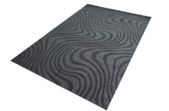 Wspaniały dywan w kolorze gorzkiej czekolady 160x230