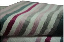 Błyszczący wiskozowy dywan wykonany ręcznie w Indiach Ava Handfab 160x230cm