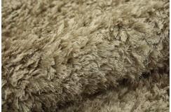 Wełna i poliester piękny dywan shaggy z Indii ciepły jasny kolor 150x220cm