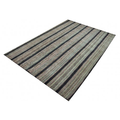 Rzadko spotykany dywan wełniany w pionowe pasy 160x230