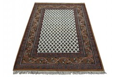Szlachetny dywan Mir Royal 120x180cm BEŻ/BRĄZ MIR 100% WEŁNA