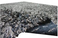 Ręcznie tkany dywan shaggy z Indii wełna filcowana i poliester tanio 165x235cm