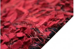Klasyczny czerwony odcień miękka wełna super dywan 165x235cm