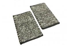 Brązowy niezwykły ręcznie tkany dywan LOOP z wełny filcowanej wakocze 3d NIEZWYKŁY TANIO! 40x60