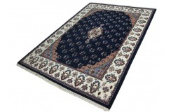 Gustowny ręcznie tkany orientalny dywan z Indii Kanchipur 2x3m 100% welna piękny