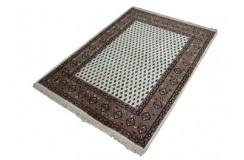 Piękny dywan mir z Indii Kanchipur ok 120x180cm 100% wełna ręcznie tkany beż/brąz