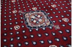 Piękny czerwony dywan indyjski MIR Kanchipur 100% wełna owcza ok 200x300cm