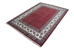 Czerwony elegancki salonowy dywan wełniany MIR z Indii 160x230cm