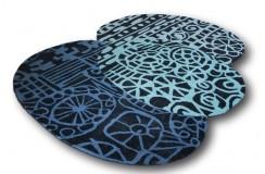 Wycinany niereguralny dywan Brink & Campman Estella Fossil 84208 160x230cm Wart 2200zł -50%