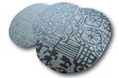 Wycinany niereguralny dywan Brink & Campman Estella Fossil 160x230cm Wart 2200zł -50%