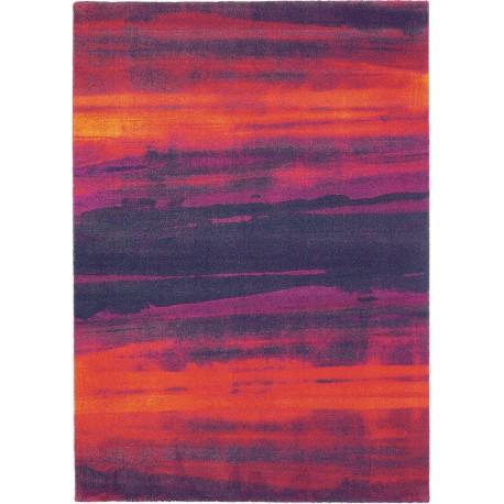 Niezwykły dywan Brink & Campman Harlequin Amazilia Loganberry 170x230cm 100% wełna fioletowy deseń