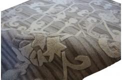 Niezwykłe połączenie kilimu z dywanem Dylan The Rug Republic dwupoziomowy 160x230100% wełna