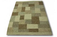LUKSUSOWY niezwykły dywan BRINKER FEEL GOOD CARPETS CORBIN CORNA10 wełna filcowana naturalny 170x230cm