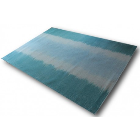 Śliczny cieniowany dywan 100% wełna - kilim Kashba Brink & Campman