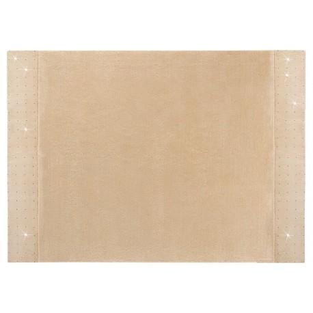 Wart 13499zł gładki dywan 200x300cm SWAROVSKI ELEMENTS LUXOR STYLE Noblesse z MONGOLSKIEJ wełny owczej lux