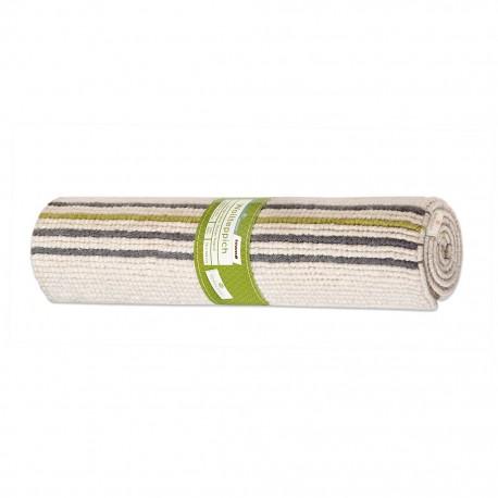 Nowoczesny 100% wełniany dywan ręcznie tkany z Indii beżowy 140x200cm Luxor Living Nordlicht delikatne pasy