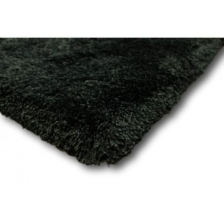 Piękny dywan shaggy ABU DHABI LUXOR STYLE 10kg/m2 6,5cm GRUBY 220x260cm JEDWAB ciemna zieleń z połyskiem